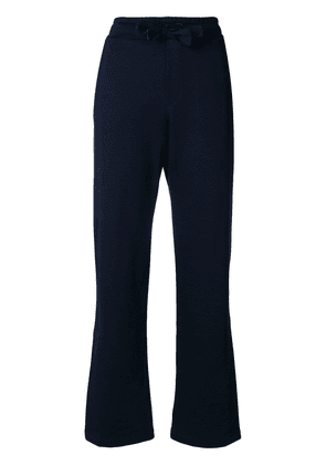 Moncler flared tailored trousers - Blue