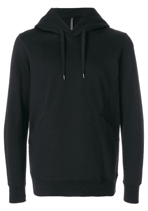 Attachment classic sporty hoodie - Black