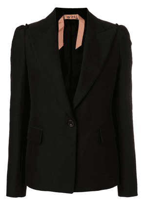 No21 classic fitted blazer - Black