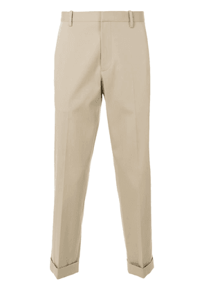 Theory tapered trousers - Neutrals