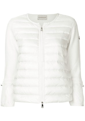 Moncler flared sleeve cardigan - Neutrals