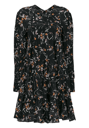 Isabel Marant Sandra floral print dress - Black