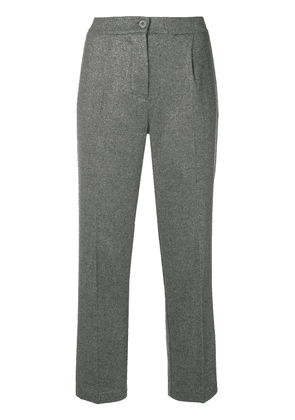 Blugirl cropped tailored trousers - Grey