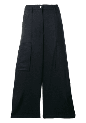 Barena cropped wide leg trousers - Blue