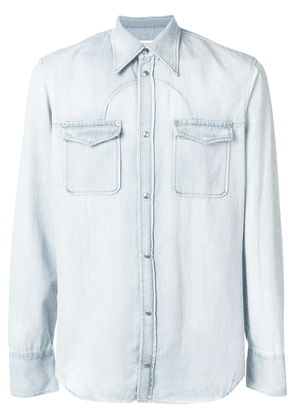 Maison Margiela classic denim shirt - Blue