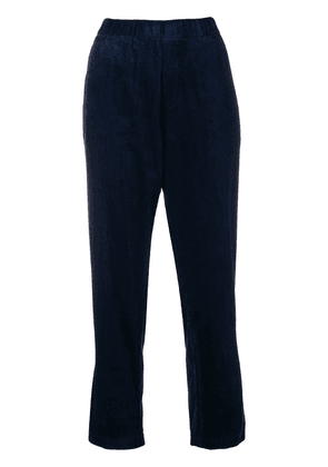 Barena cropped corduroy trousers - Blue