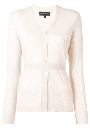 Cashmere In Love Suri cardigan - Neutrals