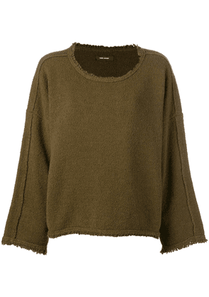 Isabel Marant relaxed fit jumper - Brown