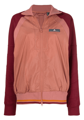 Adidas By Stella Mccartney contrast sleeved jacket - Pink
