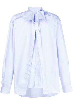 Y/Project overlayered shirt - Blue