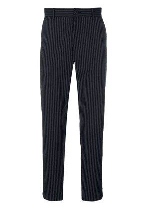 Theory striped tailored trousers - Blue