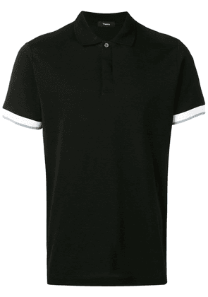 Theory luxe polo shirt - Black