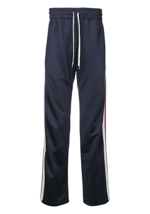 Band Of Outsiders side stripe track pants - Blue