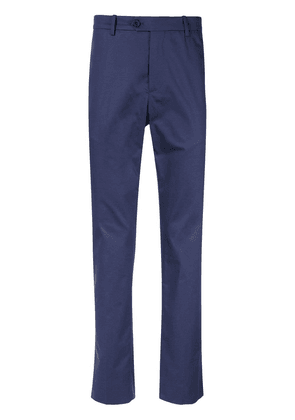 Gieves & Hawkes high-waisted chinos - Blue