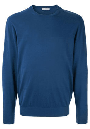 Gieves & Hawkes crew neck jumper - Blue