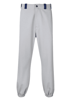 Marni branded jersey trousers - Grey