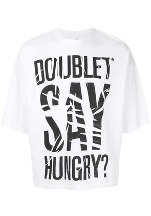 Doublet oversized T-shirt - White