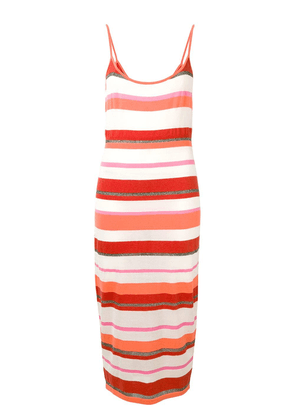 Cashmere In Love striped dress - Orange