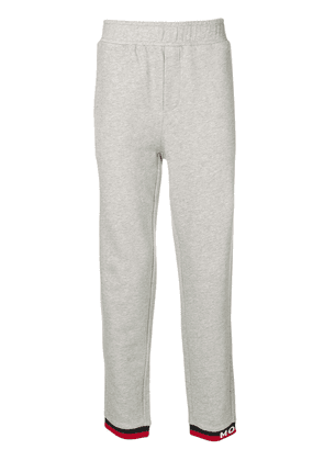 Moncler elasticated waist track pants - Grey