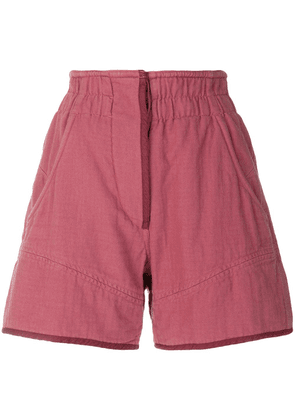 Isabel Marant high-wasted shorts - Pink