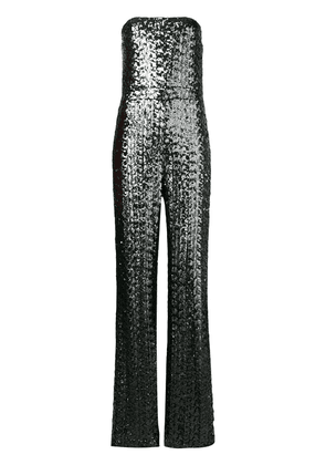 Alexis sequinned jumpsuit - Grey