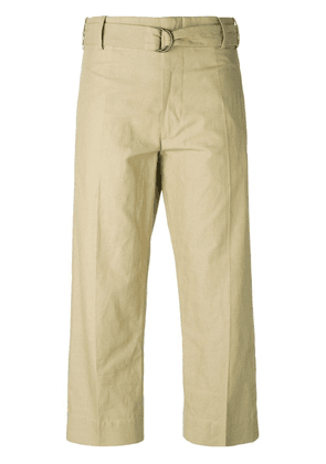 Isabel Marant cropped trousers - Neutrals