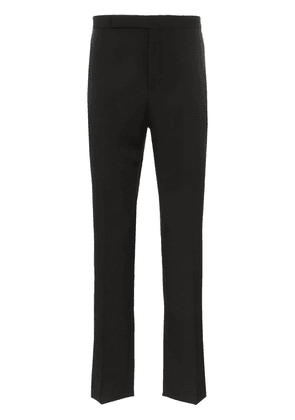 Saint Laurent tailored tuxedo trousers - Black