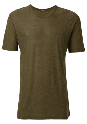 T By Alexander Wang round neck T-shirt - Green