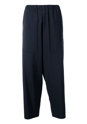 Barena wide leg cropped trousers - Blue