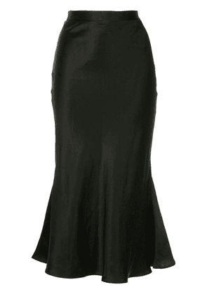 Christopher Esber flared skirt - Black