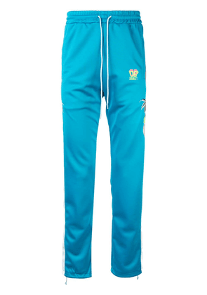Doublet embroidered track trousers - Blue