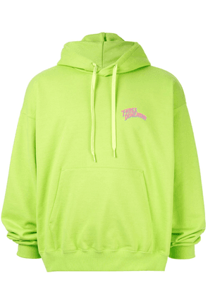 Doublet embroidered hoodie - Green