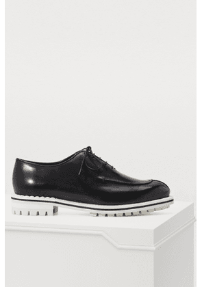 Contrast oxfords