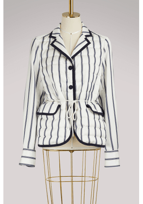Maila striped jacket