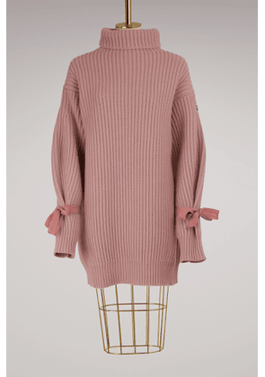 Wool and cashmere knit dress