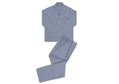 Anderson & Sheppard Grey Cashmere And Cotton Pyjamas