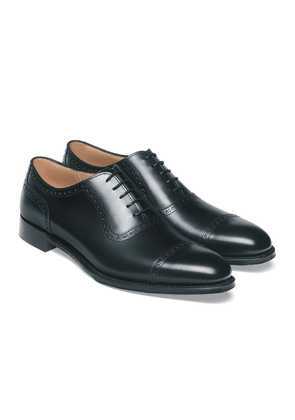 Cheaney Black Leather Frenchurch Brogues