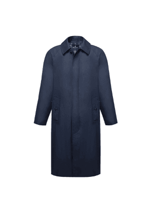 Grenfell Navy Campbell Grenfell Cloth Raincoat
