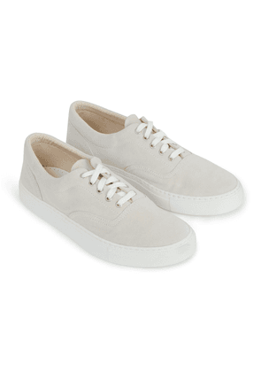 Doppiaa Light Beige Premium Suede Sneakers