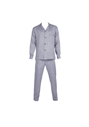 Rubinacci Light Blue Linen Pyjamas