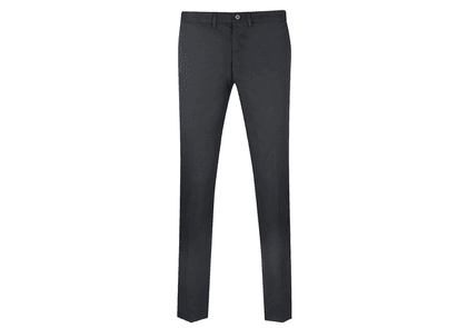Cifonelli Black Straight Leg Linen Trousers