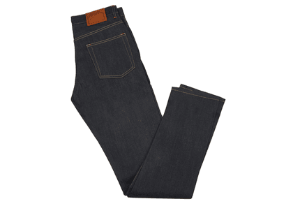 Indigo E5 Relaxed Tapered 12oz Selvedge Denim Jean