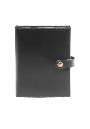 Dark Grey and London Tan Leather Notebook Cover