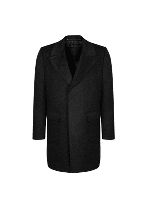 Chester Barrie Charcoal Mohair Change Coat