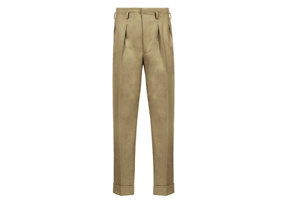 Camel Fox Flannels Hollywood Top Trouser