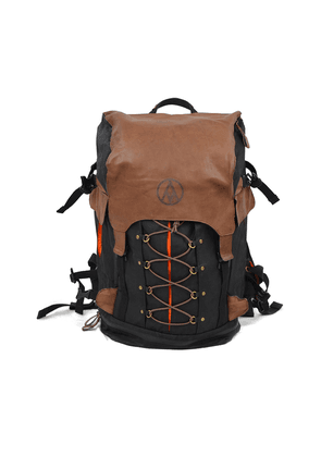 Alps & Meters Raven Waxed Canvas and Leather Alpine Rucksack