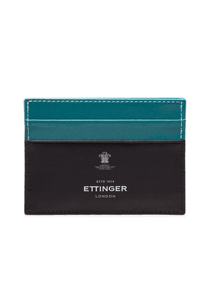 Turquoise Sterling Flat Credit Card Case