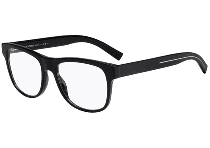 Black Square Frames with Clear Lenses Eyewear 244 807