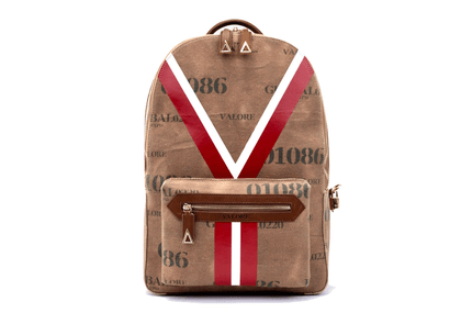 Woven Canvas Y Piloti Backpack