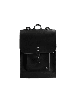 Black Leather Great Rucksack